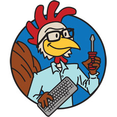 Niche Cartoons Logo For IT Company