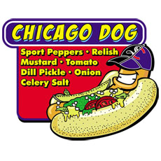 Niche Cartoons Logo For Chicago Style Restaurant