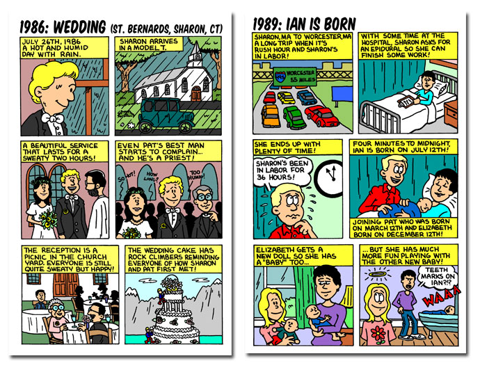 niche cartoons custom comic books