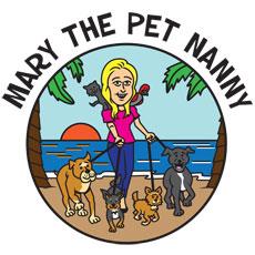 Niche Cartoons Logo For Pet Nanny Service