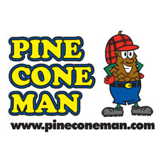 Niche Cartoons Logo For Pine Cone Man Version 2