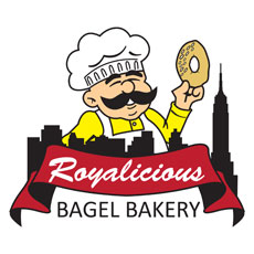 Niche Cartoons Logo For Bagel Bakery