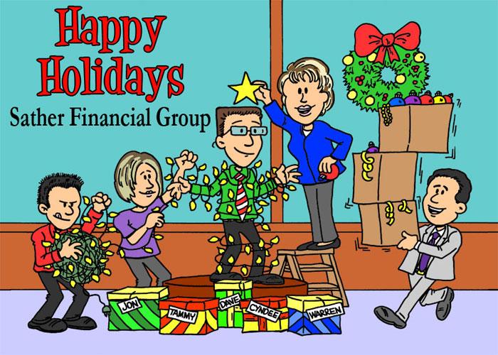 niche cartoons custom cards - Holiday Cartoon Images