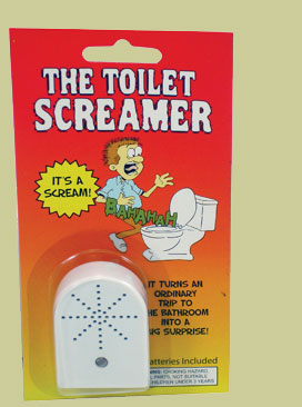Niche Cartoons Toilet Screamer