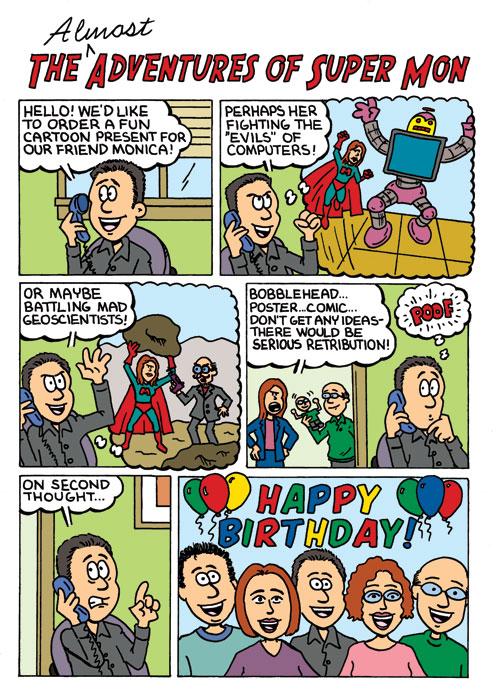 Niche Cartoons custom comic page