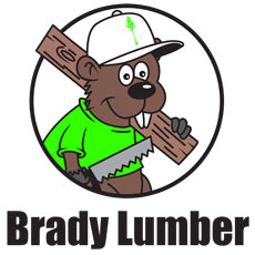 Niche Cartoons Logo For Brady Lumber (Tree Service)